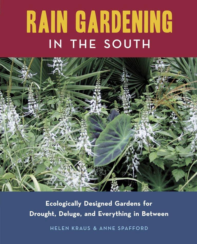 Book cover Rain Gardening