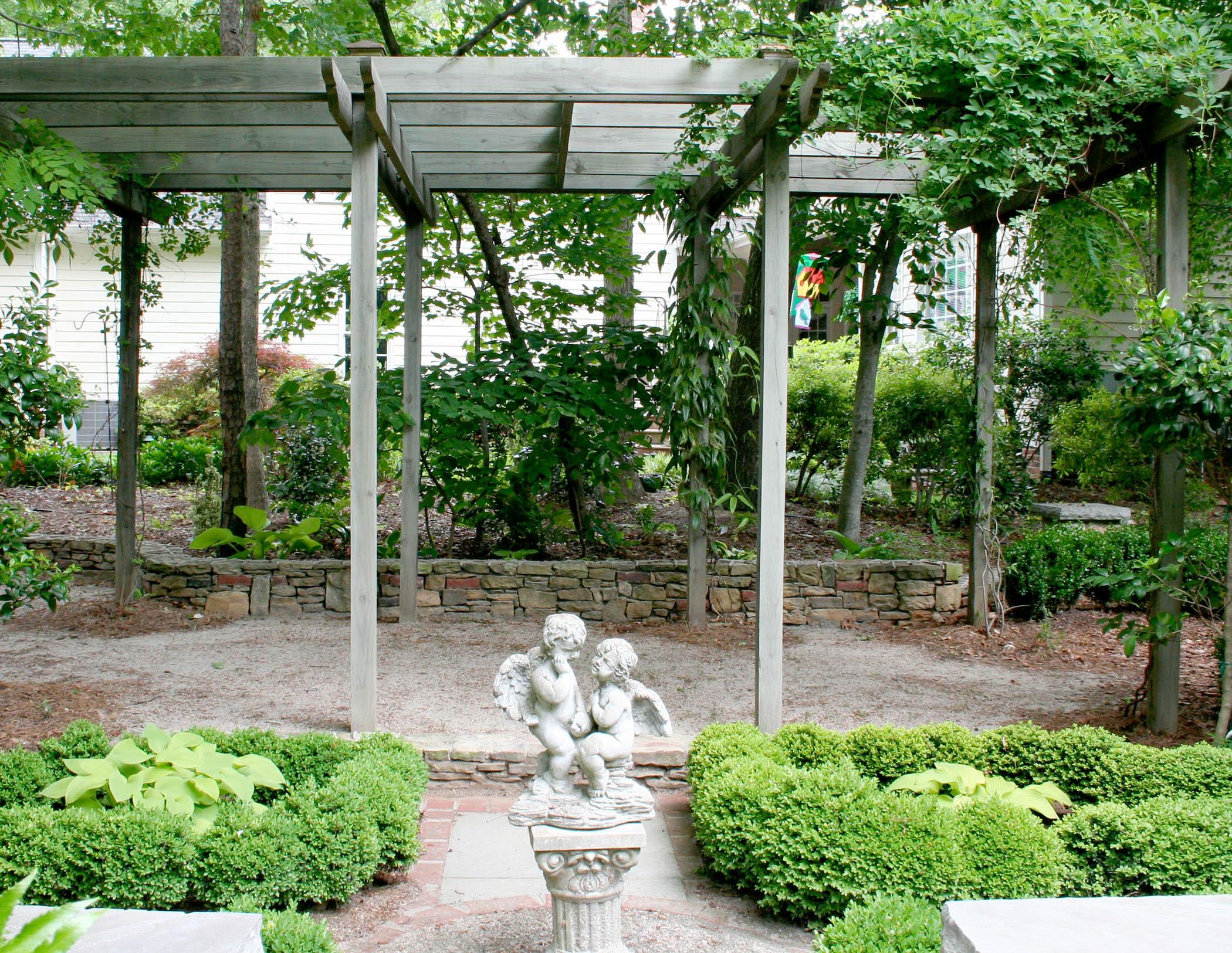 An Arbor Addition Transforms the Garden