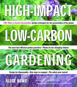 book cover High Impact Low Carbon Gardening
