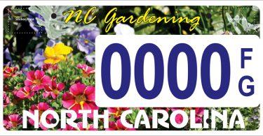 NC Master Gardener License Plate