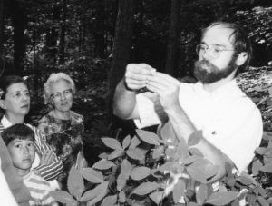 A class in the early 1970s / NC Botanical Garden