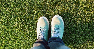 Grass and Feet