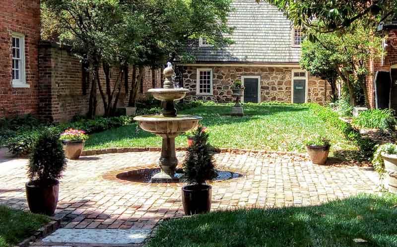 Edgar Allan Poe Museum Enchanted Garden
