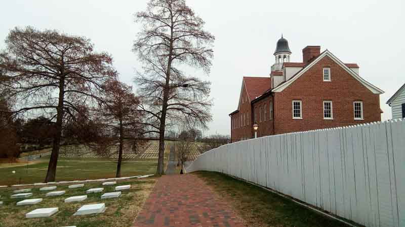 God's Acre Cemetery in Old Salem