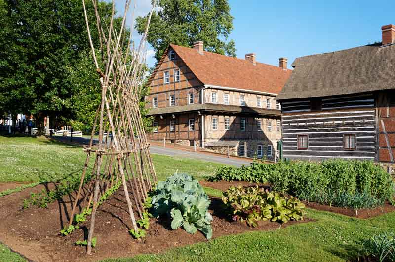 Gardens at Old Salem