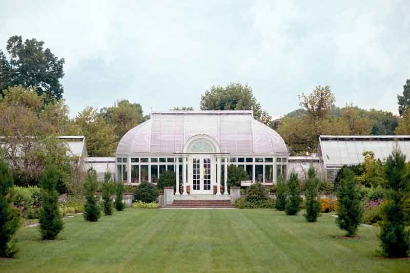 The Palm House at Reynolda Gardens