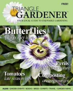 Triangle Gardener cover July-August 2018