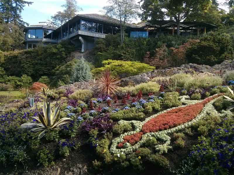 Queen Elizabeth Park North Quarry Garden