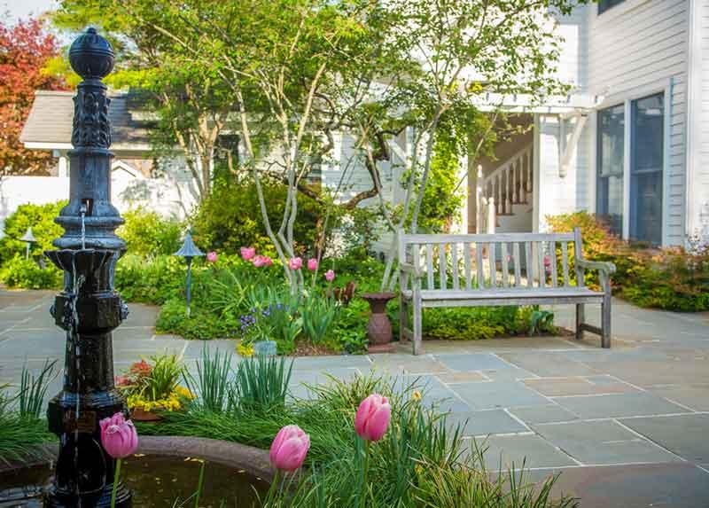 Fearrington garden
