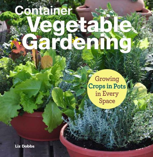 Container Vegetable Gardening book